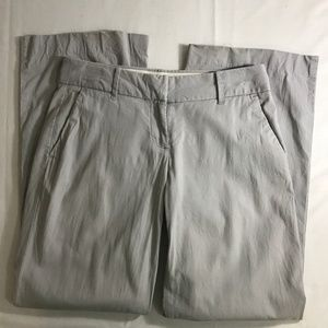 9 E J Crew Factory Stretch City Fit Gray Pants 2S